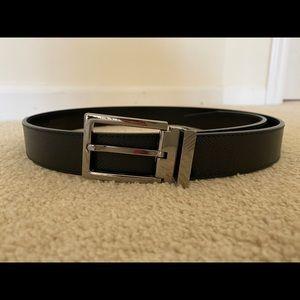 Burberry black belt